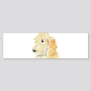 Cream Labradoodle 1 Sticker (Bumper 10 pk)